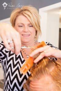 bella salon hair services
